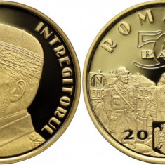 Moneda 50 bani PROOF Regele Ferdinand