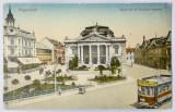 Carte postala antebelica Oradea/ Nagyvarad, ocupatie maghiara - circulata