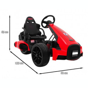 GoKart de curse electric XR-1, rosu