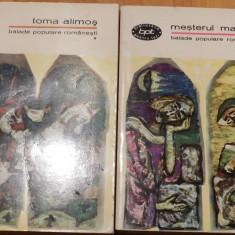 Balade populare romanesti (Vol 1 + 2) BPT