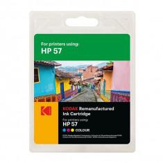 Cartus original Kodak compatibil HP 57 Tricolor, C/M/Y, Premium