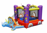 Saltea gonflabila Happy Hop Dino Play House