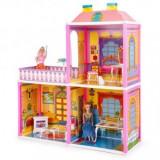 Cumpara ieftin Casuta de papusi vila cu terasa copii 3+ ani