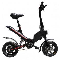 Bicicleta electrica pliabila, roti 12-inch, 7.80 Ah Baterie, Mehawheels, Negru