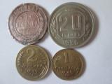 Rusia/URSS lot 4 monede colectie,vedeti foto