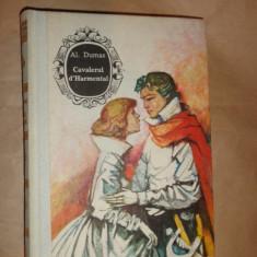 Cavalerul d'Harmental / cartonata - Al.Dumas
