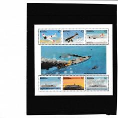 Dominica - Razboi - WWII - AVIOANE SI NAVE MILITARE - KB - Nestampilat