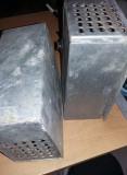 Carcase vechi metalice pt.Transformator,dispozitile electrice/electronice,T.GRAT