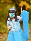 Rochie rochita printesa Elsa Frozen NOUA (cu eticheta) 4,5,6,7,8 ani, 4-5 ani, Turcoaz