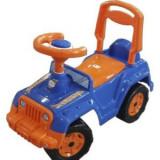 Masinuta premergator RideOn Malipen, albastru cu portocaliu