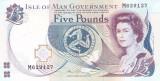 Bancnota Isle of Man 5 Pounds (2015) - P48 UNC