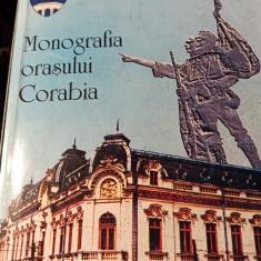MONOGRAFIA ORAȘULUI CORABIA - FLOREA BÂCIU, ION VÂRTEJARU, 2001,365 P + FOTO