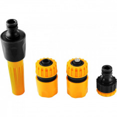 Stut furtun apa cu accesorii pentru robinet set de 4,