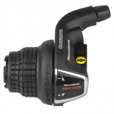 Maneta De Schimbator Shimano Tourney Sl-Rs35-Ln, 3 Vit. (Friction), Revo ShifterPB Cod:ASLRS35LNAP
