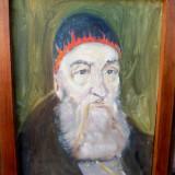 Tablout  Evreu   cu    kipah, Portrete, Ulei, Realism