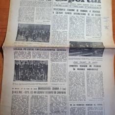 sportul 28 noiembrie 1983-cupa carpati la popice,handbal feminin,lupte libere