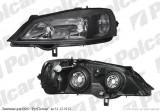 Far Opel Astra G 01.1998-2002 / Astra G ENJOY 2003-08.2009, DJ AUTO fata dreapta, tip bec H7+HB3, culoare rama negru