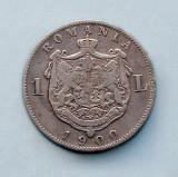 ROMANIA - 1 Leu 1900 - Argint 5 g