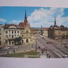 Carte postala - Cluj Napoca (Strada Gh. Doja), Necirculata, Fotografie
