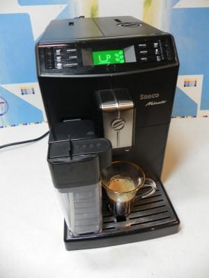 Espressor automat SAECO Minuto cana lapte expresor foto