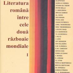 OVID. S. CROHMALNICEANU - LITERATURA ROMANA INTRE CELE DOUA RAZBOAIE MONDIALE 2V