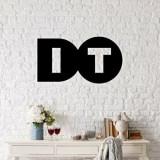 Cumpara ieftin Decoratiune pentru perete, Ocean, metal 100 procente, 50 x 25 cm, 874OCN1012, Negru