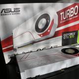 Placa video Nvidia GeForce GTX 970 Asus Turbo OC 4GB, GDDR5, PCI, 4 GB