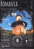 Carte postala Bucovina SV168 Vatra Moldovitei - Absida de la rasarit