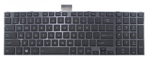 Tastatura laptop, Toshiba, Satellite L50, neagra