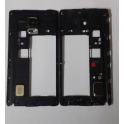 Carcasa Mijloc Samsung Galaxy Note Edge N915 Negru Original foto