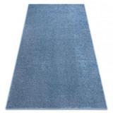 Covor - Mocheta SANTA FE albastru 74 simplu, culoare, solidă, 500x600 cm