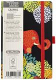 Cumpara ieftin Bloc notes Ivory Graphic 9 X 14 cm 192 pagini, patratele, motiv Animal Graphic