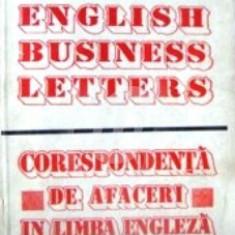 English Business Letters. Corespondenta de afaceri in limba engleza