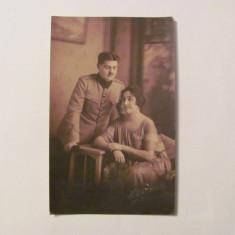 GE - Foto ilustrata maiorul Trincu & sotia Elena / Studio Dzulinsky Craiova 1923