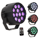 MINI LED PAR PORTABIL RGB 12X1W