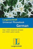 Langenscheidt Universal-Phrasebook German