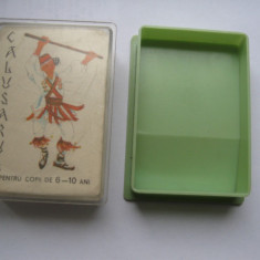 Joc vechi comunist/epoca de aur/vintage-Calusarul (32 de carti+cutia originala)