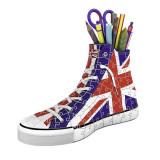Puzzle Ravensburger Sneaker British Flag 108 Piece 3D
