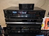 Linie TECHNICS : Amplificator + CD +Deck+ Telecomanda - Vintage/Japan/Impecabil
