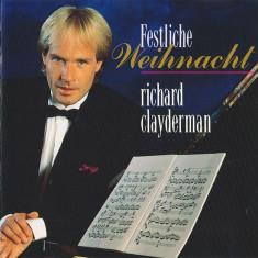 CD Richard Clayderman – Festliche Weihnacht, original, jazz