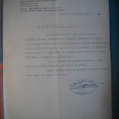 HOPCT DOCUMENT VECHI NR 292 FURNIZORII CURTII REGALE JOSEFINE DEMETTER 1947