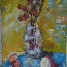 Ulei pe panza 55/75 cm, pictor roman