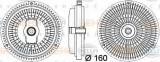 Vascocuplaj / Cupla ventilator radiator MERCEDES G-CLASS (W463) (1989 - 2016) HELLA 8MV 376 757-341