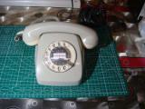 Telefon fix vintage cu disc Siemens Fetap 611-2