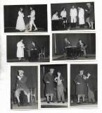 C1913 Lot 7 poze romanesti piesa de teatru actori 1959 poza veche