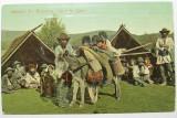Salutari din Romania, Satra de Tigani, circulata 1906