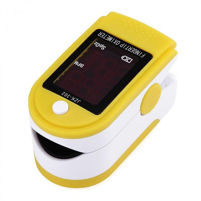 Pulsoximetru JZK302, puls 30-250 bpm