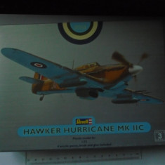 bnk jc Avion - macheta - Hawker Hurricane MK IIc - Revell - 1/72