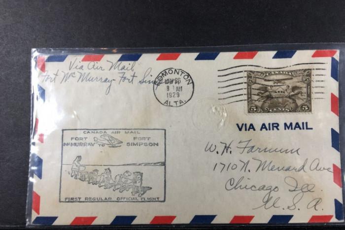 Aviatie, Zboruri, Canada 26 Nov 1929, Primul zbor Fort McMurray - Fort Simpson