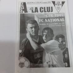 program         CfR Cluj   -  FC  National